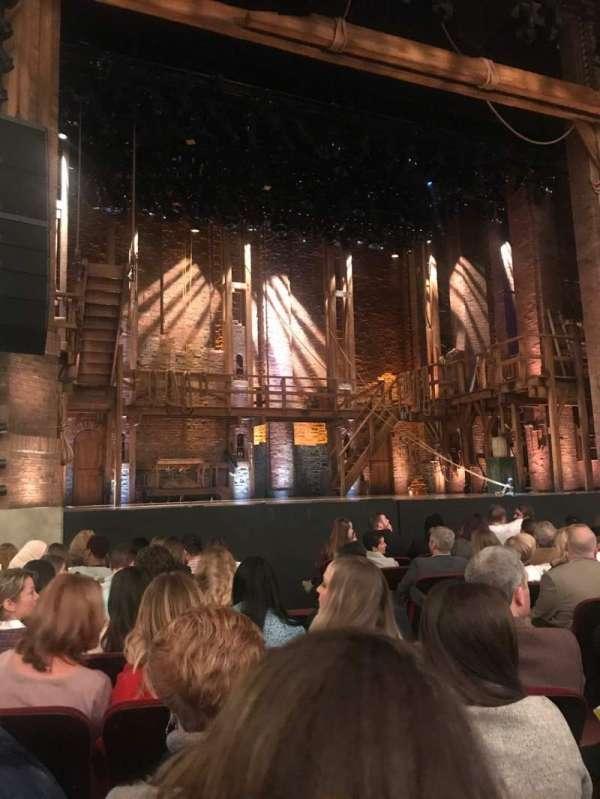 CIBC Theatre, vak: Orchestra L, rij: L, stoel: 7