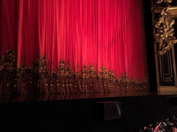 Majestic Theatre, vak: Orchestra, rij: AA, stoel: 5