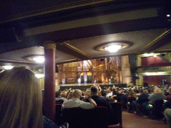 CIBC Theatre, vak: Orchestra L, rij: Y, stoel: 1