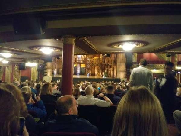 CIBC Theatre, vak: Orchestra L, rij: Y, stoel: 3