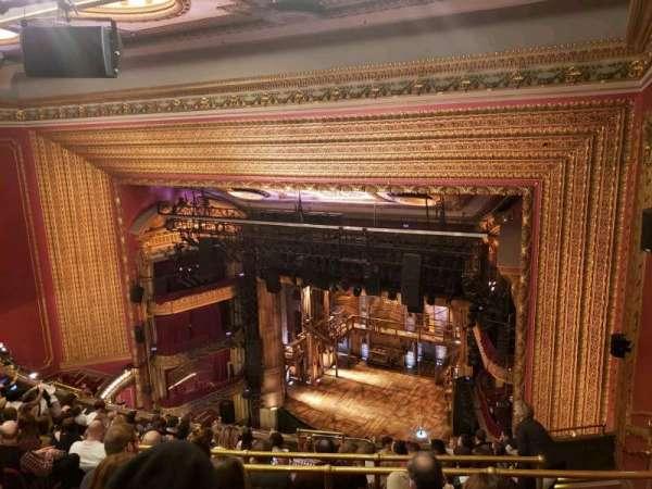 CIBC Theatre, vak: Balcony R, rij: L, stoel: 12