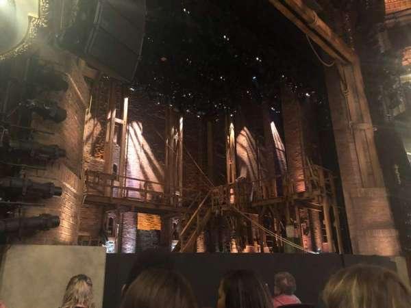 CIBC Theatre, vak: Orchestra L, rij: F, stoel: 15