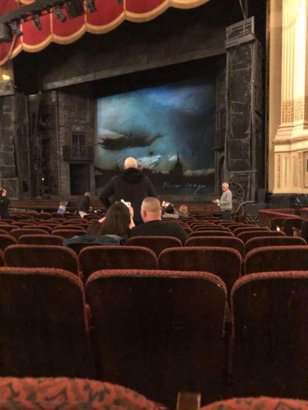 Citizens Bank Opera House, vak: Orchestra Right Center, rij: K, stoel: 26