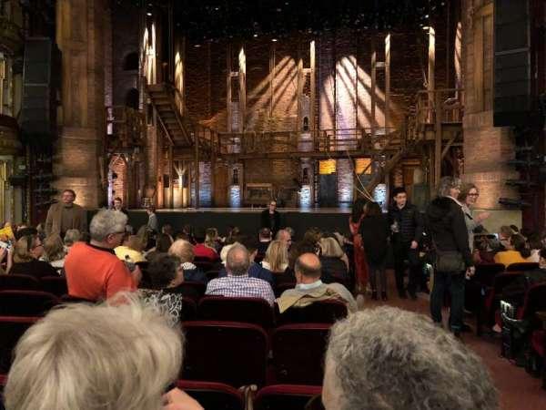CIBC Theatre, vak: Orchestra c, rij: N, stoel: 113