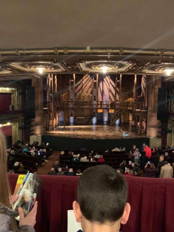 CIBC Theatre, vak: Dress circle c, rij: B, stoel: 205
