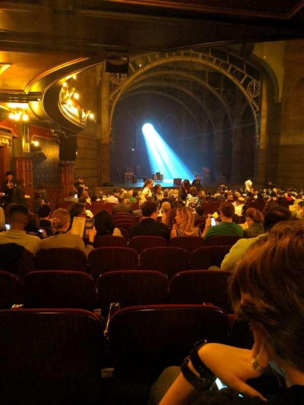 Lyric Theatre, vak: orchestra L, rij: U, stoel: 33