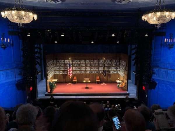 Hayes Theater, vak: Mezz, rij: E, stoel: 105