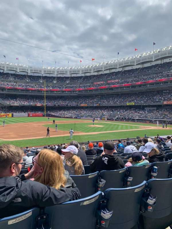 Yankee Stadium, vak: 126, rij: 11, stoel: 14
