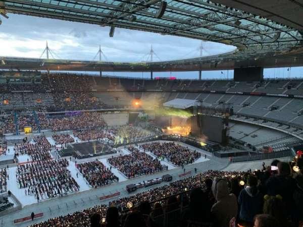 Stade de France, vak: D9, rij: 73, stoel: 22