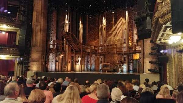 CIBC Theatre, vak: Orchestra R, rij: N, stoel: 20