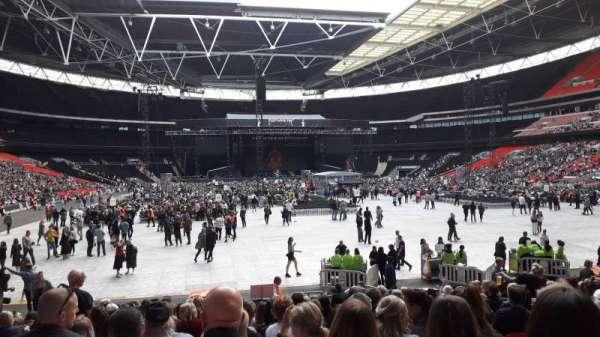Wembley Stadium, vak: 113, rij: 19, stoel: 52
