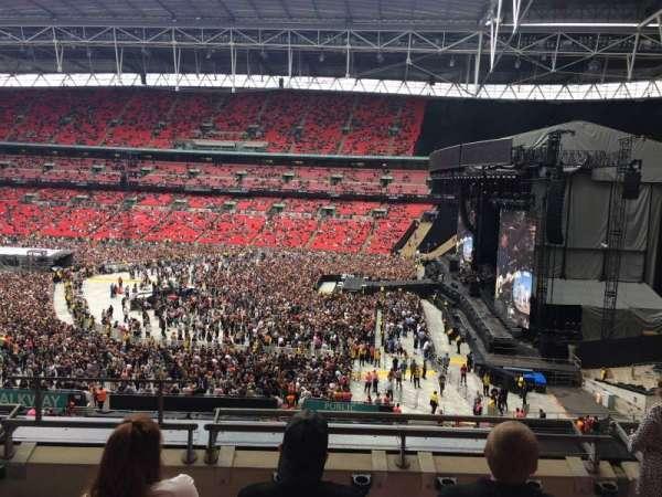 Wembley Stadium, vak: 249, rij: 5, stoel: 226