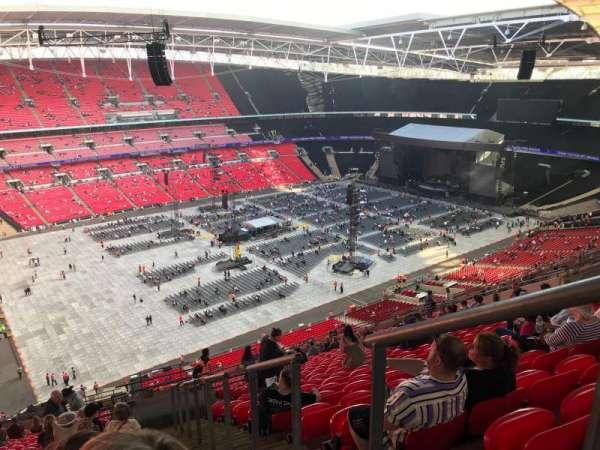 Wembley Stadium, vak: 505, rij: 25, stoel: 138