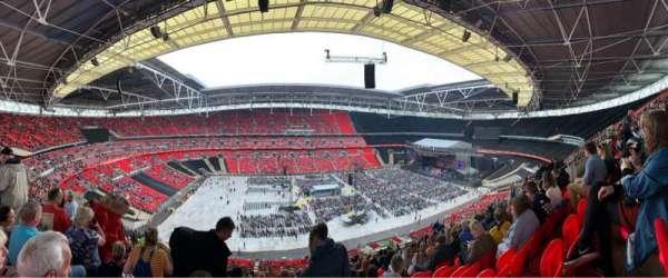 Wembley Stadium, vak: 503, rij: 62, stoel: 64