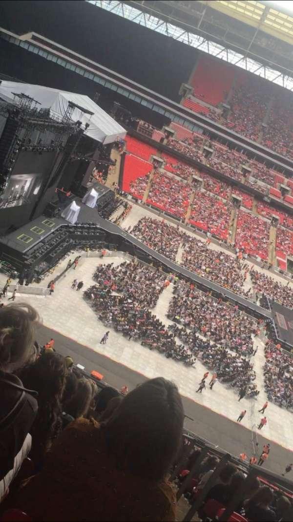 Wembley Stadium, vak: 529, rij: 13, stoel: 78