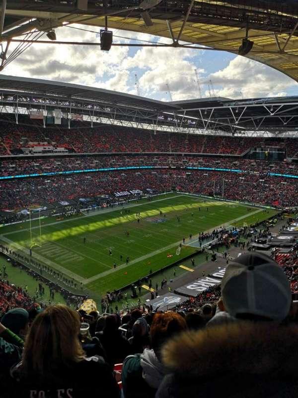 Wembley Stadium, vak: 507, rij: 19, stoel: 211
