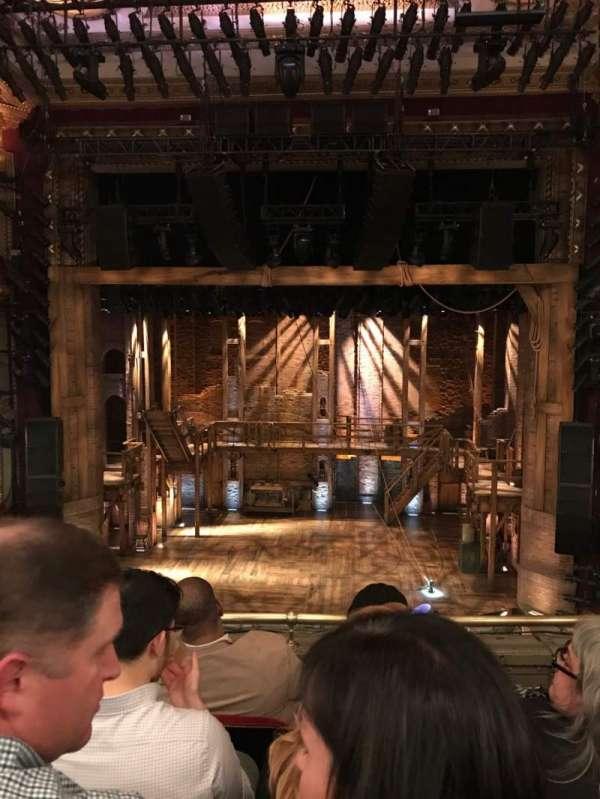 CIBC Theatre, vak: Mezzanine rc, rij: D, stoel: 304