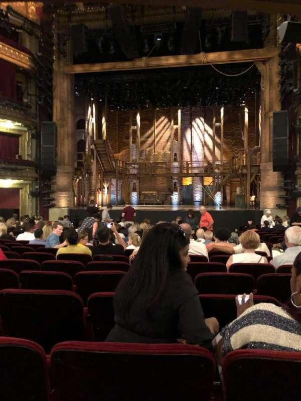 CIBC Theatre, vak: Orchestra R, rij: V, stoel: 113