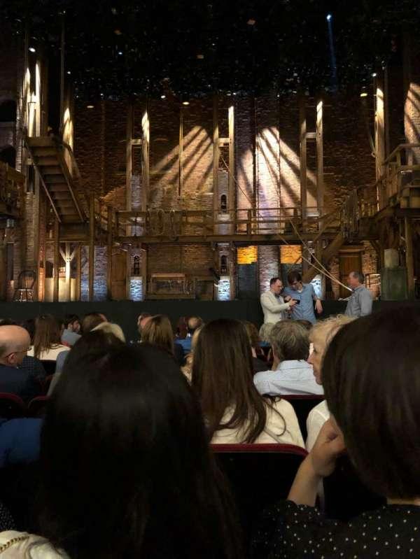 CIBC Theatre, vak: Orch-c, rij: J, stoel: 107