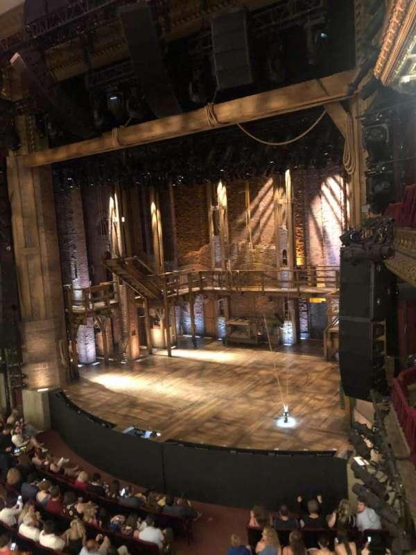 CIBC Theatre, vak: Mezz-r, rij: A, stoel: 10