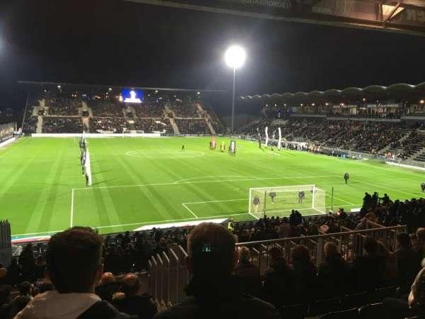 Stade Raymond Kopa, vak: Coubertin E, rij: AA, stoel: 137
