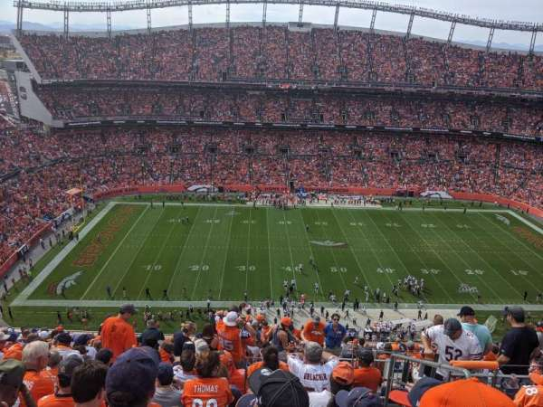 Empower Field at Mile High Stadium, vak: 536, rij: 18, stoel: 4