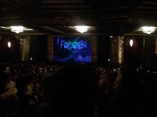 Hollywood Pantages Theatre, vak: Orchestra RC, rij: YY, stoel: 213
