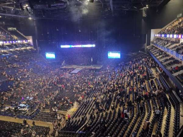 The O2 Arena, vak: 415, rij: A