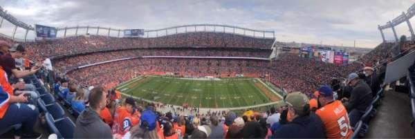 Empower Field at Mile High Stadium, vak: 507, rij: 15, stoel: 7