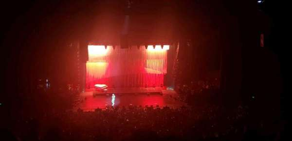 The Theatre at Grand Prairie, vak: 408, rij: p, stoel: 1