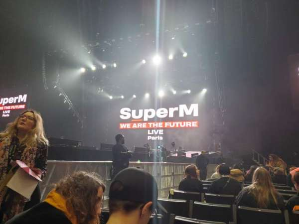 AccorHotels Arena, vak: Y, rij: 18, stoel: 13