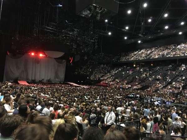 AccorHotels Arena, vak: Gradin S, rij: 21, stoel: 13