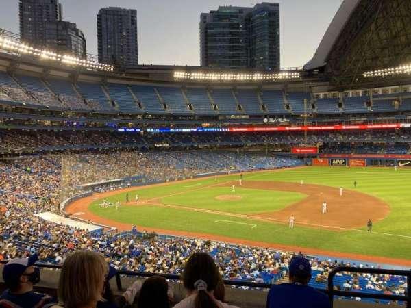 Rogers Centre, vak: 216L, rij: 4, stoel: 101