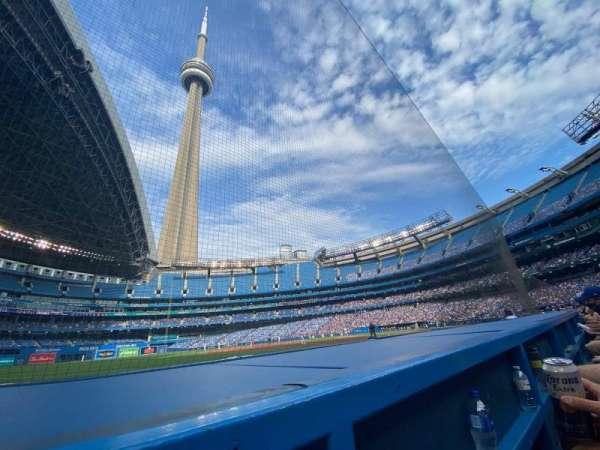 Rogers Centre, vak: 130BR, rij: 1, stoel: 6