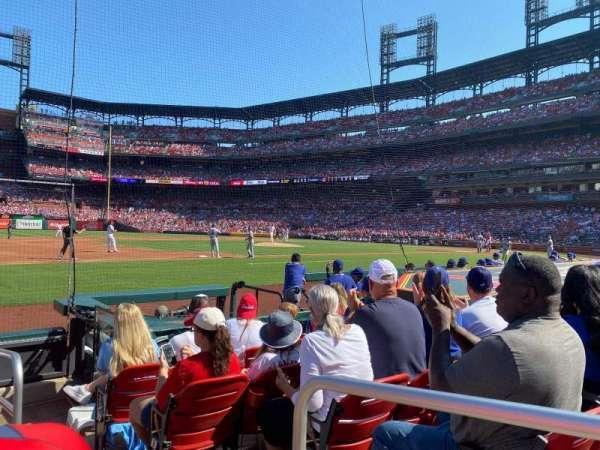 Busch Stadium, vak: 159D, rij: G, stoel: 1