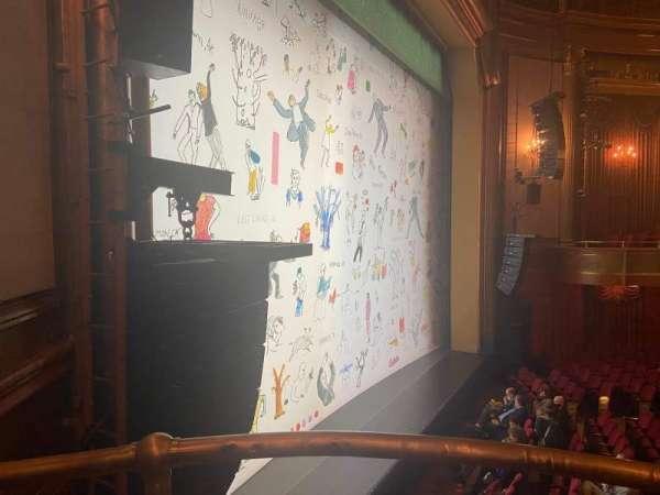 St. James Theatre, vak: Box B, rij: B, stoel: 1