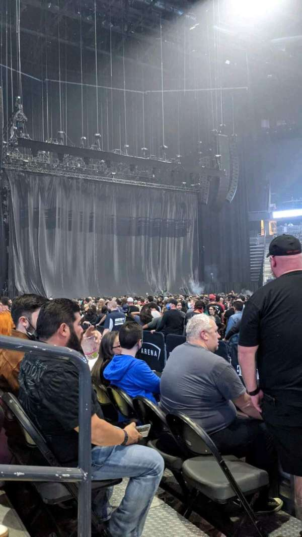 TMobile Arena, vak: 6, rij: C, stoel: 2