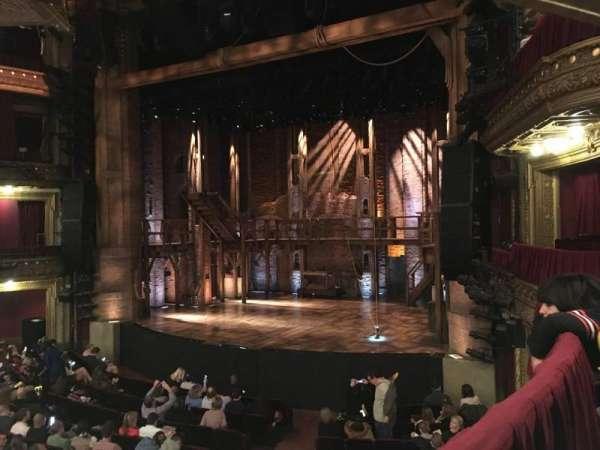 CIBC Theatre, vak: Dress circle-E, rij: A, stoel: 2