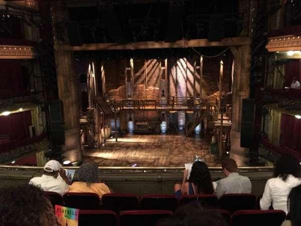 CIBC Theatre, vak: MEZZRC, rij: E, stoel: 10
