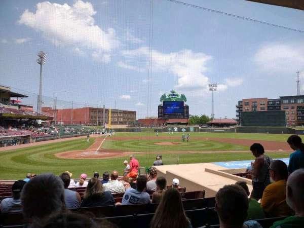Day Air Ballpark, vak: 108, rij: 15, stoel: 6