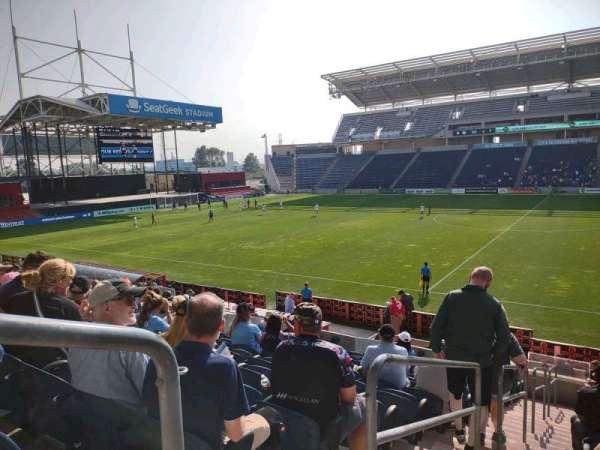 SeatGeek Stadium, vak: 127, rij: 17, stoel: 21