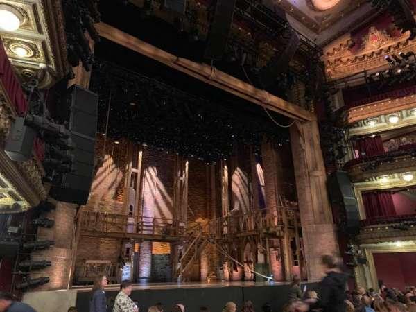 CIBC Theatre, vak: Orchestra L, rij: L, stoel: 15