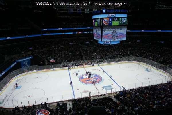 Barclays Center, vak: 226, rij: 2, stoel: 8