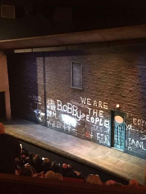 Bernard B. Jacobs Theatre, vak: Mezz, rij: G, stoel: 30