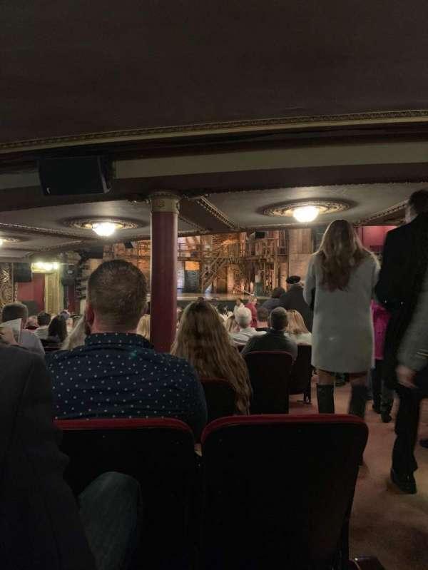 CIBC Theatre, vak: Orchestra L, rij: Z, stoel: 5