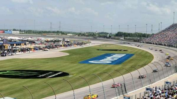 Chicagoland Speedway, vak: 422, rij: 28, stoel: 5