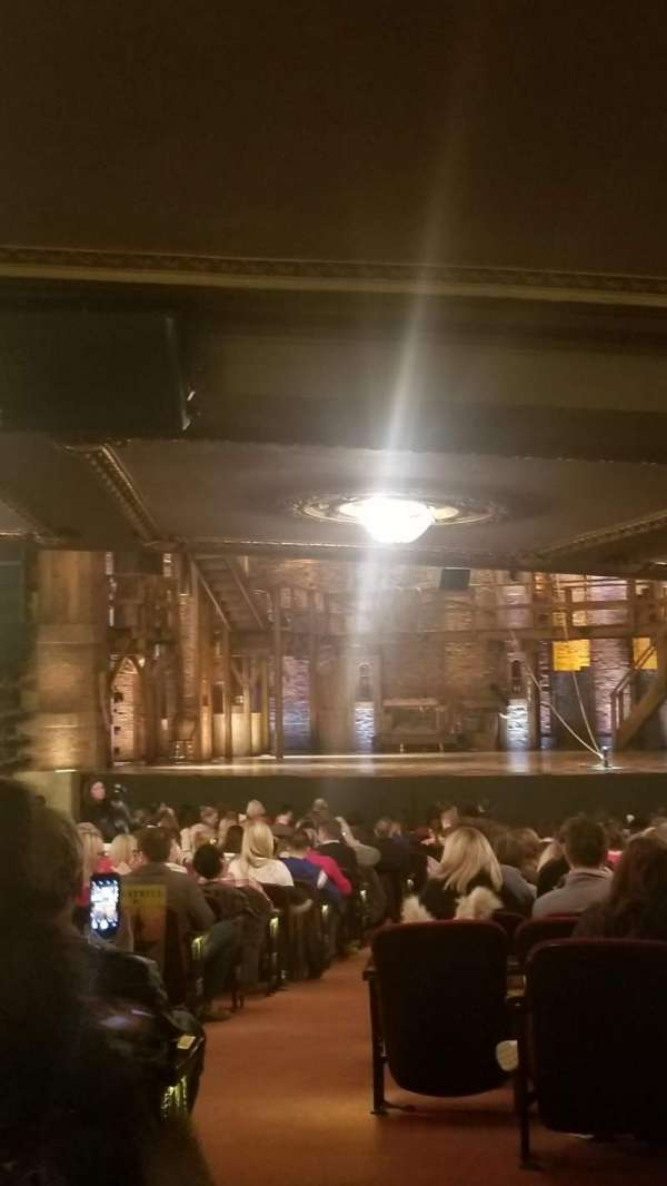 CIBC Theatre, vak: Orchestra L, rij: ZZ, stoel: 2