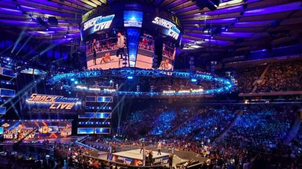 Madison Square Garden, vak: 119, rij: 14, stoel: 12