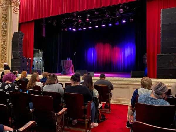 Carnegie of Homestead Music Hall, vak: Floor Right, rij: F, stoel: 1