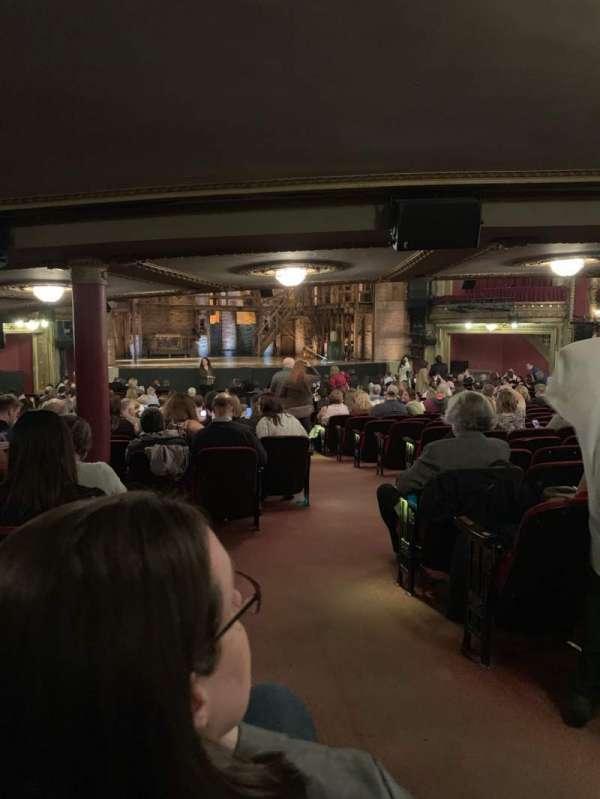 CIBC Theatre, vak: ORCH-L, rij: ZZ, stoel: 3